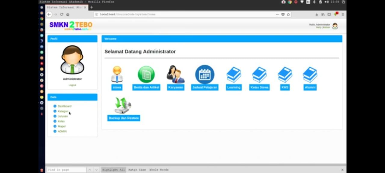 Download Source Code Sistem Informasi Akademik Sekolah Berbasis Web Bale Kode